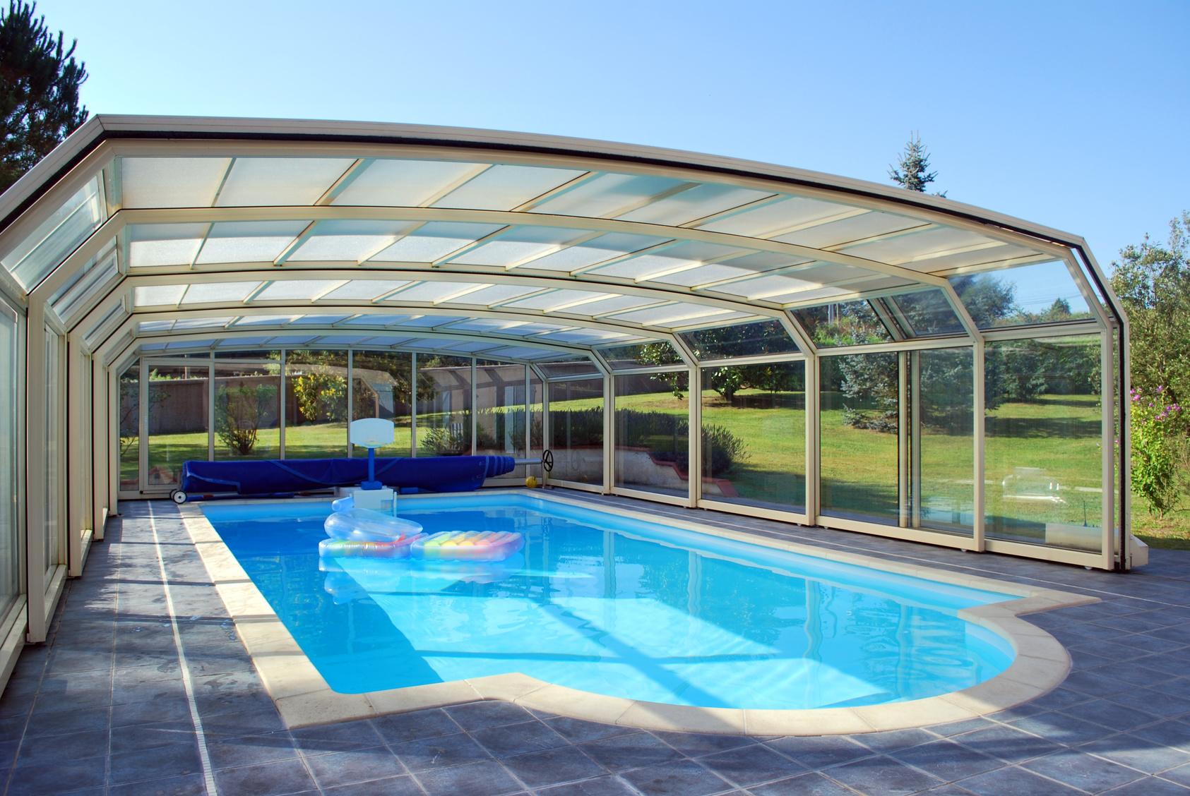 Logiciel pour abris de piscine droit cintr t l scopique for Abri de piscine