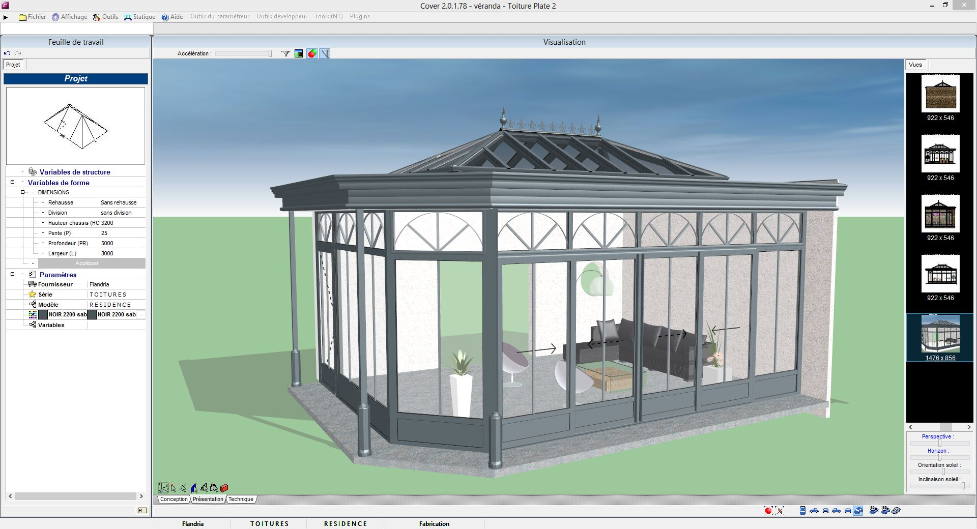 verandas cover. Black Bedroom Furniture Sets. Home Design Ideas