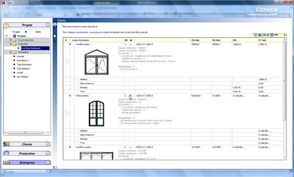 Devis pour fenetre exemple devis porte fen tre exemple for Devis chassis pvc en ligne